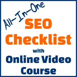 All-in-one SEO Checklist with online video course